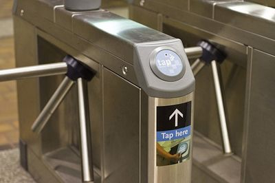 interaction design needs to to help the user learn quickly and easily like the turnstile of LA subway