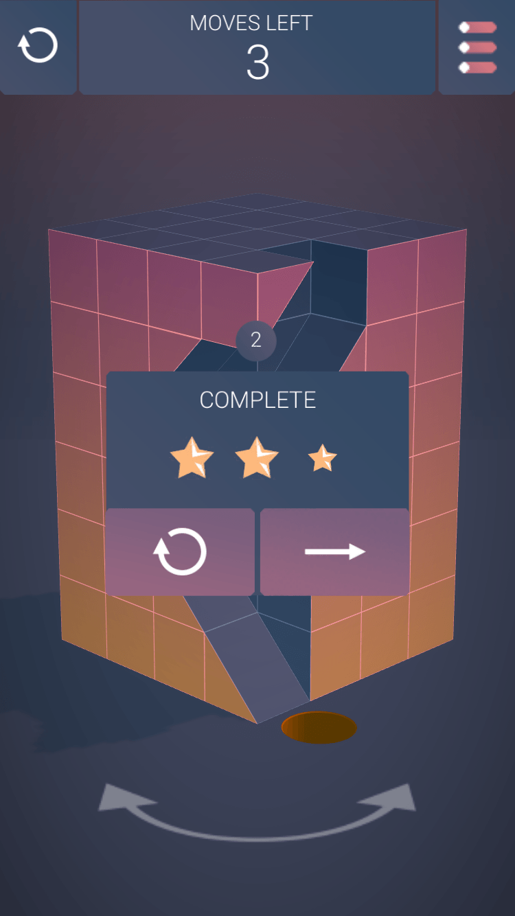 A puzzle game app designed to challenge your wits and hone your sense of perspective