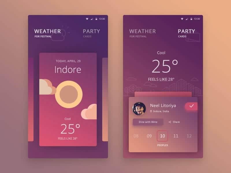 The best mobile app ui designs of proto