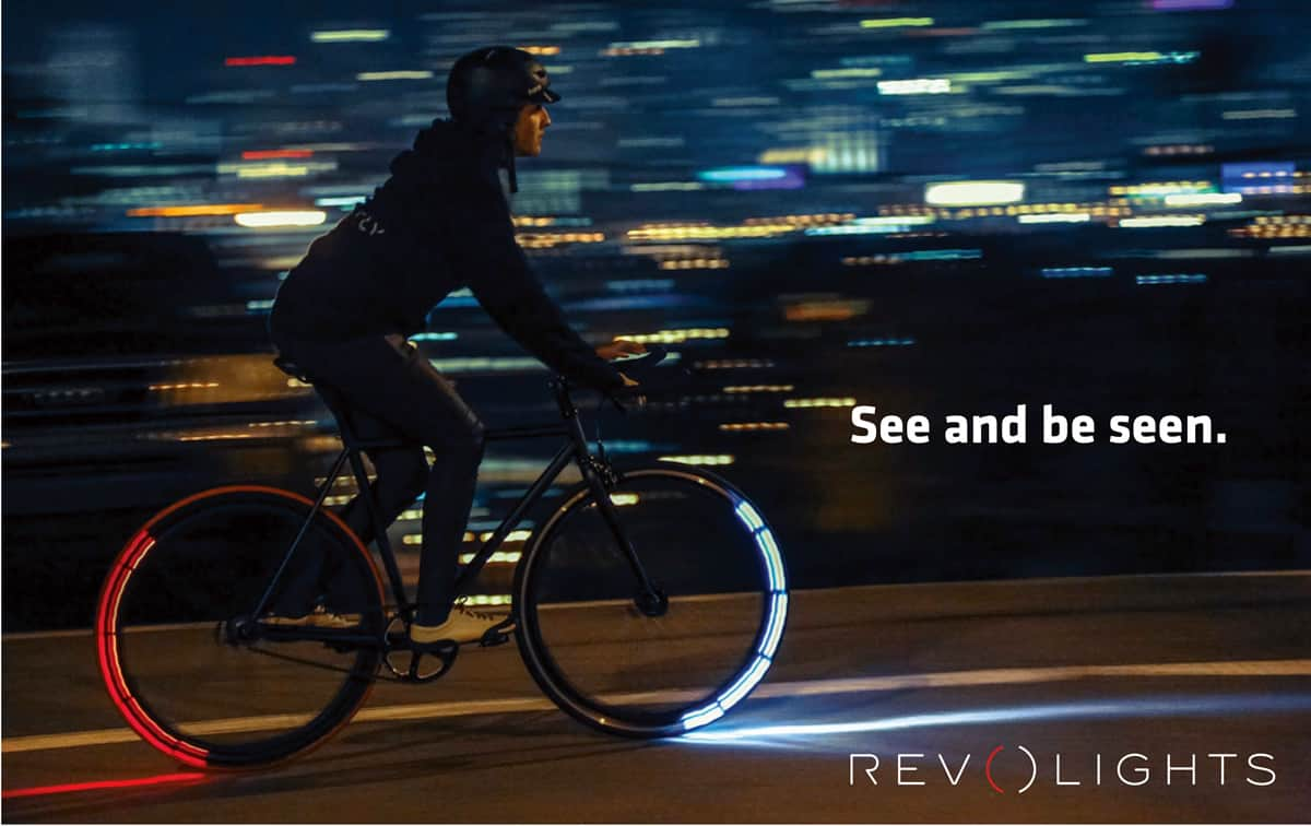 A photo of an ad for Revolights, one of many successful tech startups from Shark Tank.