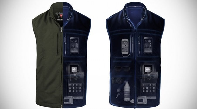 A photo SCOTTeVEST, one of many successful tech startups from Shark Tank.