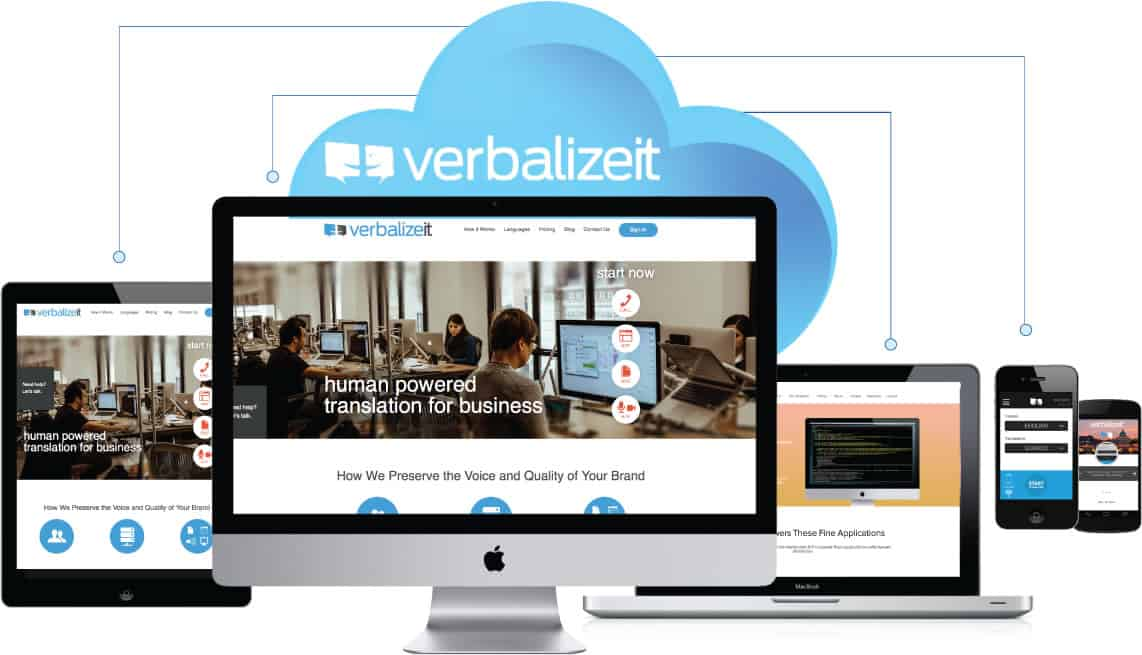 A photo VerbalizeIt, one of many successful tech startups from Shark Tank.