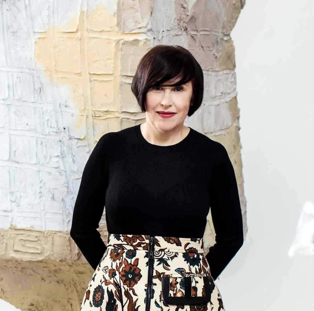 A photo of Alice Rawsthorn, a design critic.