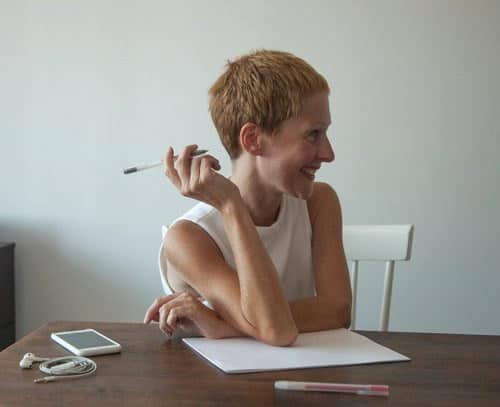 An image of Giorgia Lupi, a top female designer
