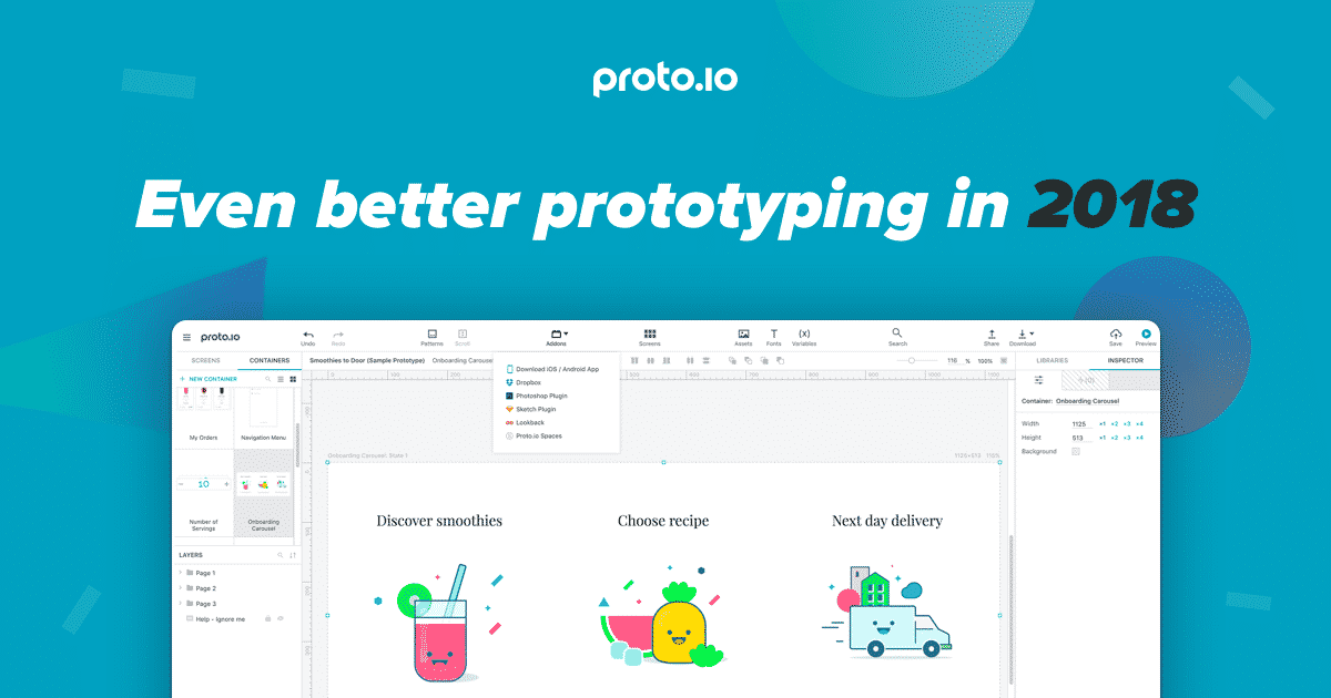 Even better prototyping in 2018 | Proto io