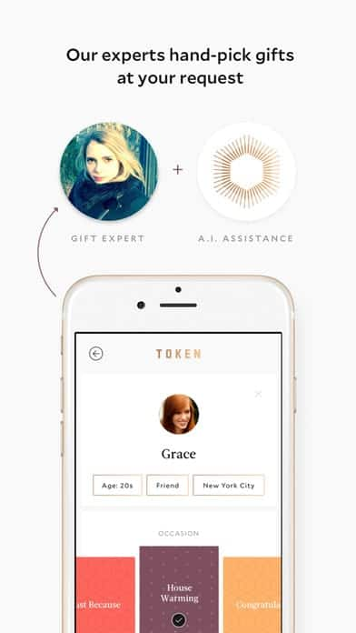 A photo of Token, Top Mobile App UI of 2017