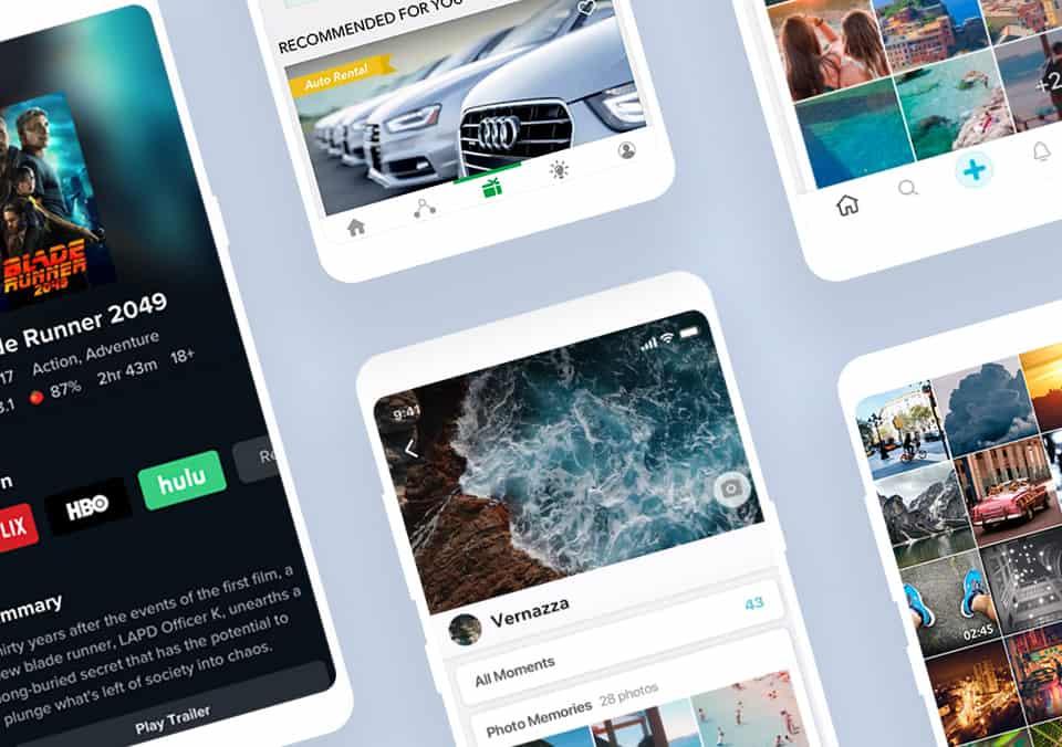 Top 5 Mobile App Designs of October 2018