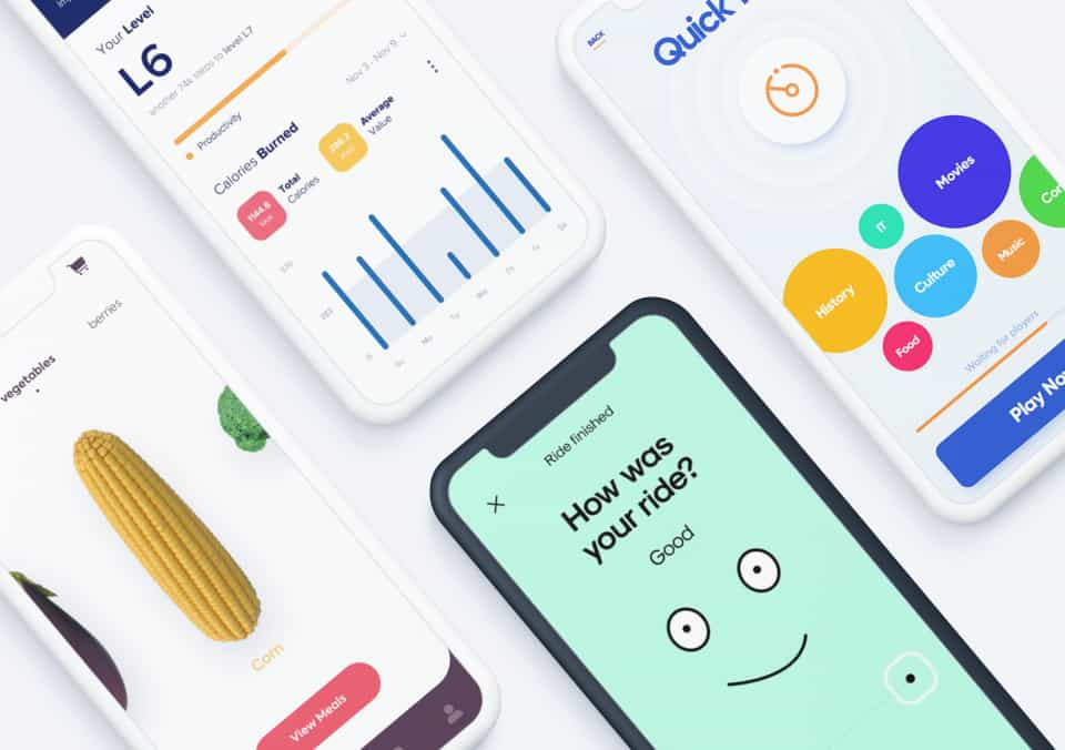 Top 5 Mobile Interaction Designs of Winter 2019