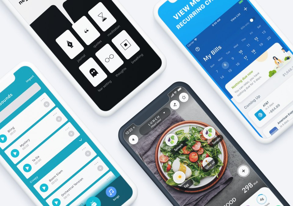 The Top Mobile App Designs of 2019