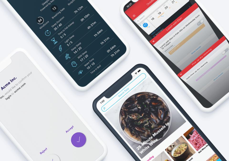 Top 5 Mobile App Designs of January 2020