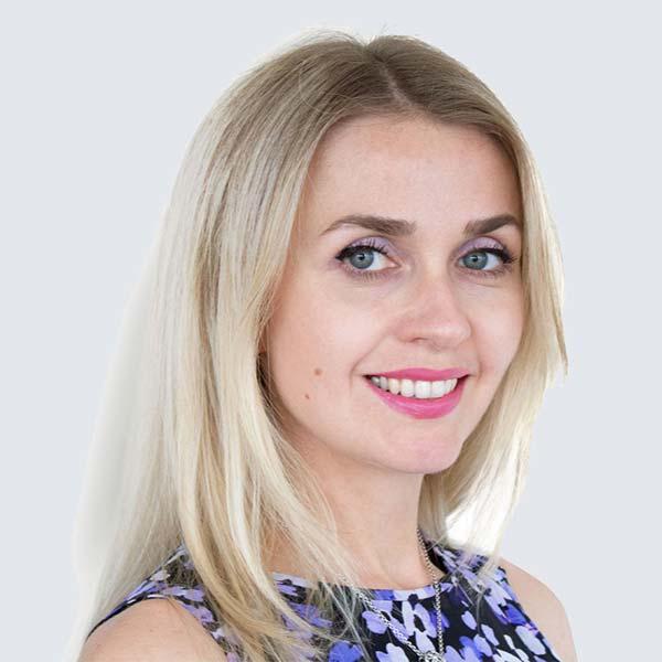 A photo of Svetlana Bodnia, graphic designers at GKA.