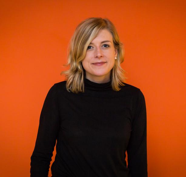 A photo of Tamara Olson, owner of Studio Simpatico.