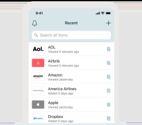 A photo of Dashlane, Top 5 Mobile App Designs of Fall 2020